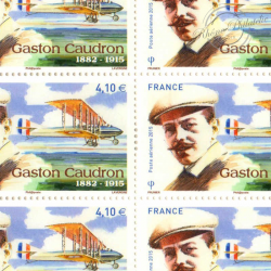 PA N°_79 GASTON CAUDRON 2014 FEUILLE COLLECTOR F79