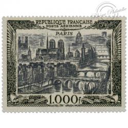 FRANCE PA N°29 VUE DE PARIS, MAGNIFIQUE TIMBRE NEUF**1950