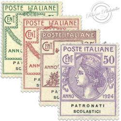 ITALIE PATRONATI SCOLASTICI, TIMBRES NEUFS*1924