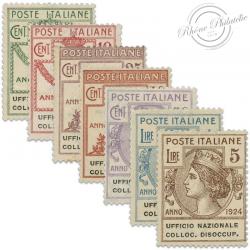 ITALIE UFFICIO NAZIOALE FRANCOBOLLI, TIMBRES NEUFS*1924