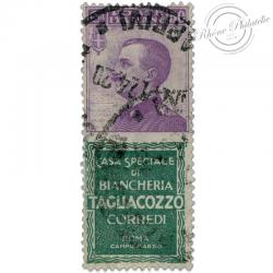 """ITALIE TIMBRE PUBLICITAIRE """"TAGLIACOZZO"""", TIMBRE OBL-1924"""
