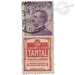 "ITALIE TIMBRE PUBLICITAIRE ""TANTAL"", TIMBRE OBL-1924"