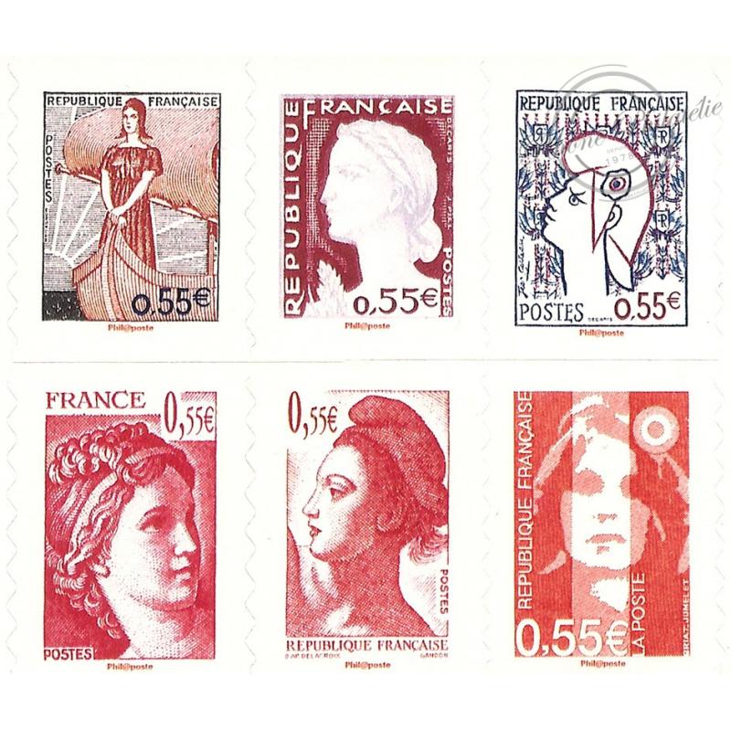 """CARNET """"LES VISAGES DE LA Vème REPUBLIQUE"""" BC225"""