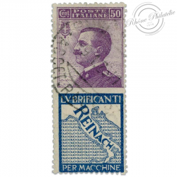 "ITALIE TIMBRE PUBLICITAIRE ""REINACH"", TIMBRE OBL-1924"