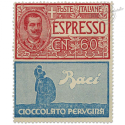 """ITALIE TIMBRE PUBLICITAIRE """"CHOCOLAT"""", TIMBRE NEUF*1924"""