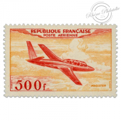 FRANCE PA N°32 PROTOTYPES MAGISTER, TIMBRE NEUF-1954