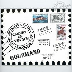 TAAF N° C372 CARNET DE VOYAGE GOURMAND EDITION PRESTIGE, 2003