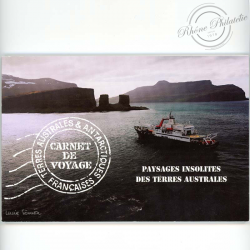 TAAF N° C478 CARNET DE VOYAGE PAYSAGES INSOLITES DES TERRES AUSTRALES, 2007