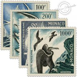 MONACO POSTE AÉRIENNE N°55 À 58 TIMBRES NEUFS-1955