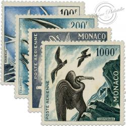 MONACO POSTE AÉRIENNE N°55 À 58, TIMBRES NEUFS DE 1955