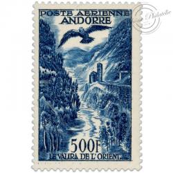 ANDORRE FRANÇAIS PA N°4, PAYSAGE, TIMBRE NEUF, LUXE DE 1955-57
