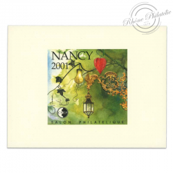 "FRANCE BLOC CNEP N°33b ""NANCY 2001"""