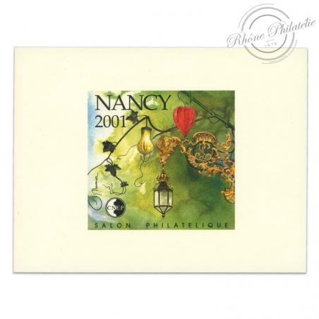 "FRANCE BLOC CNEP N°33b ""NANCY 2001"""