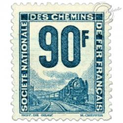 """FRANCE COLIS POSTAUX N°20 """"PETITS COLIS"""", TIMBRE NEUF ET SIGNÉ-1944-47"""