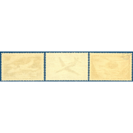 PA N°35-37 PROTOTYPES, TIMBRES NEUFS** 1957