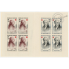 CARNET CROIX-ROUGE N°2008, TIMBRES NEUFS**, 1959, TB