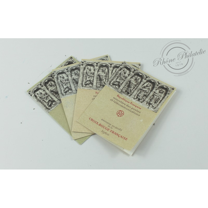 CARNET CROIX-ROUGE N°2009, TIMBRES POSTE NEUFS**, 1960, TTBE