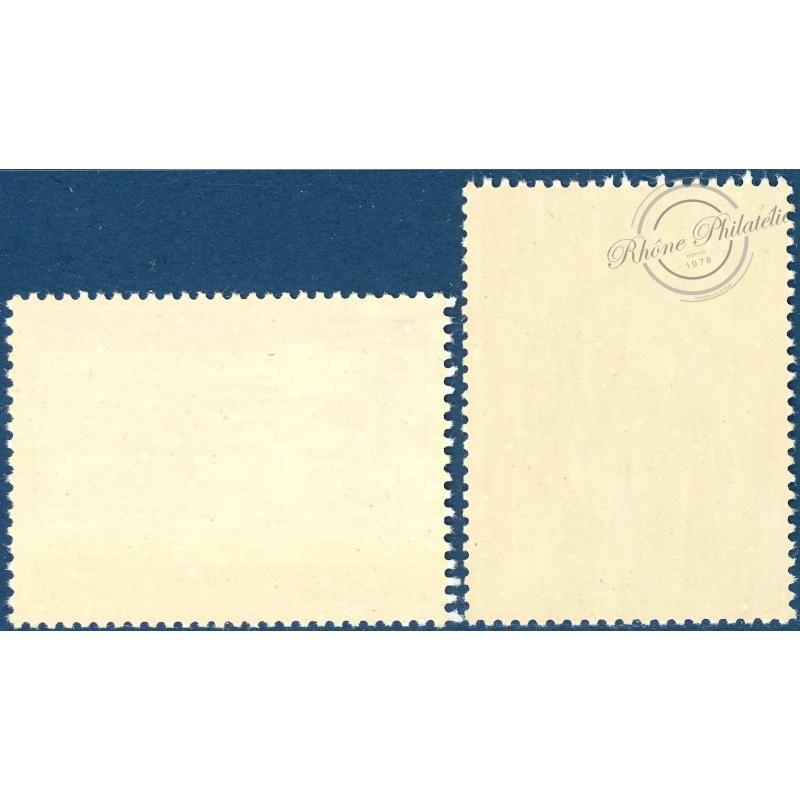 SAINT-PIERRE-ET-MIQUELON N°417 A 418, TIMBRES NEUFS SANS CHARNIÈRE, 1971