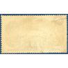 PA N°15 AVION SURVOLANT PARIS (BURELET), TIMBRE OBLITÉRÉ, 1936