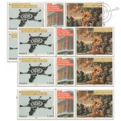 FRANCE LOT N°4999/5000 SÉRIE ARTISTIQUE, TIMBRES NEUFS-2015