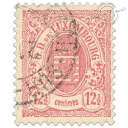 LUXEMBOURG N°43, G.D DE LUXEMBOURG, TIMBRE OBLITÉRÉ 1880