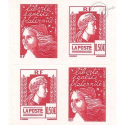 """CARNET """"LES 60 ANS DE LA MARIANNE D'ALGER"""" N°1512 COMPOSITION VARIABLE (MARIANNE D'ALGER et DU 14 JUILLET)"""