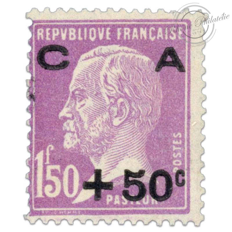 FRANCE N°251 CAISSE D'AMORTISSEMENT, TIMBRE NEUF-1928