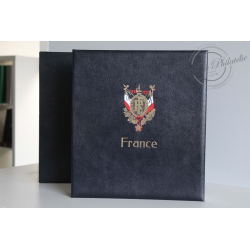 ALBUM DAVO, POUR COLLECTION DE TIMBRES DE FRANCE 1976-1989