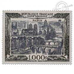 FRANCE PA N°29 VUE DE PARIS, TIMBRE LUXE DE 1950