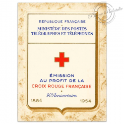 FRANCE CARNET CROIX-ROUGE N°2003, TIMBRES NEUFS-1954
