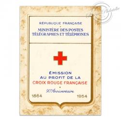 FRANCE CARNET CROIX-ROUGE N°2003, TIMBRES NEUFS DE 1954