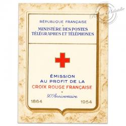 FRANCE CARNET CROIX-ROUGE N°2003, TIMBRES NEUFS EN 1954