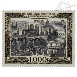 FRANCE PA N°29 VUE DE PARIS, TIMBRE NEUF-LUXE DE 1950