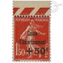 FRANCE N°277 CAISSE D'AMORTISSEMENT, TIMBRE LUXE-1931