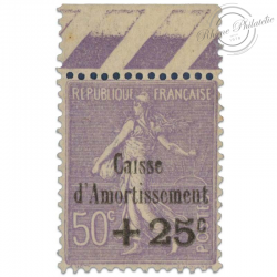 N°276 CAISSE D'AMORTISSEMENT, TIMBRES NEUFS**1931-LUXE