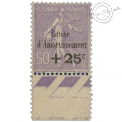 N°276 CAISSE D'AMORTISSEMENT, TIMBRE NEUF**1931-LUXE