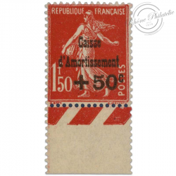 FRANCE N°277 CAISSE D'AMORTISSEMENT, TIMBRE NEUF-1931