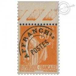 FRANCE PRÉOBLITÉRÉ N°75 TYPE PAIX, TIMBRE LUXE DE 1922-47