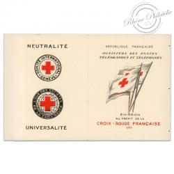 FRANCE CARNET CROIX-ROUGE, ANNÉE N°2004, TIMBRES NEUFS**1955