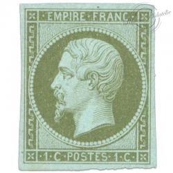 FRANCE N°11 TYPE NAPOLÉON, TIMBRE NEUF, SIGNE-1860