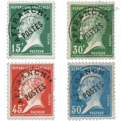 PREOBLITERES N°65 A 68 TYPE PASTEUR, TIMBRES NEUFS**/*1922-47