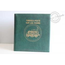 COLLECTION DE TIMBRES TRAIN MONDE / TIMBRES TAAF 1969-1992, ALBUM LUTECE