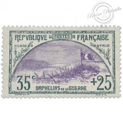 FRANCE N°152 ORPHELINS DE LA GUERRE, TIMBRE NEUF-1917-18