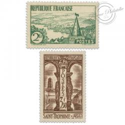 FRANCE N°301 ET 302 RIVIÈRE BRETONNE, ST-TROPHIME, TIMBRES LUXE