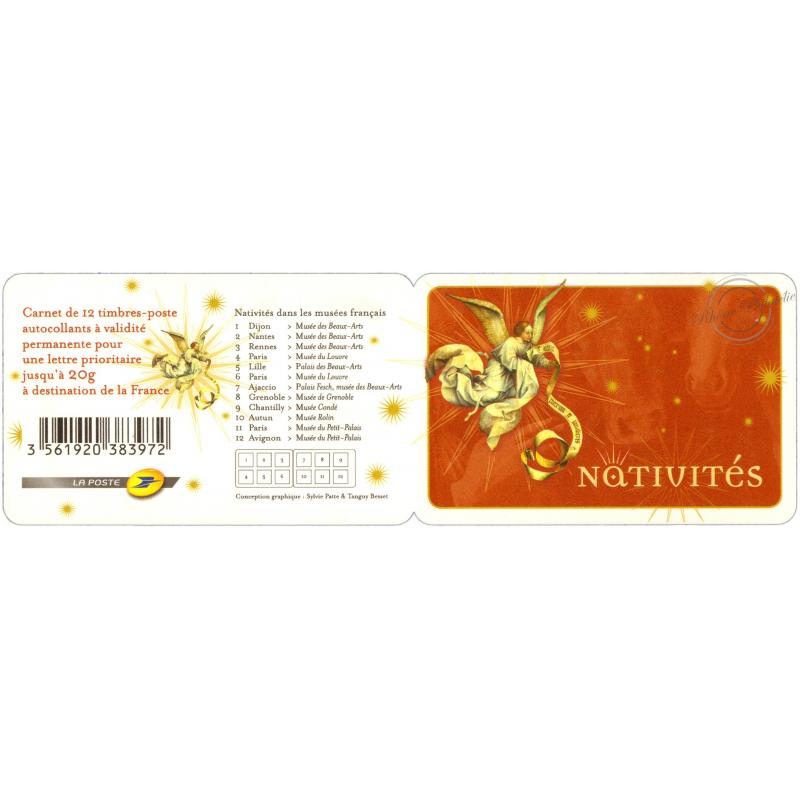 """CARNET """"NATIVITES"""" BC621"""