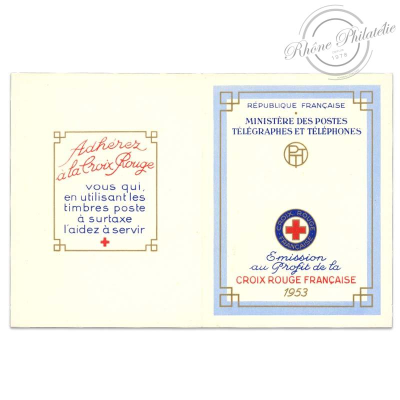 FRANCE CARNET CROIX-ROUGE N°2002, TIMBRES NEUFS DE 1953