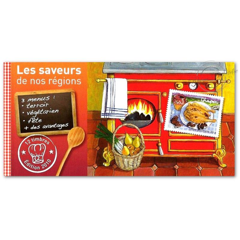 "CARNET ""LES SAVEURS DE NOS REGIONS"" (2) COLLECTOR BC443"