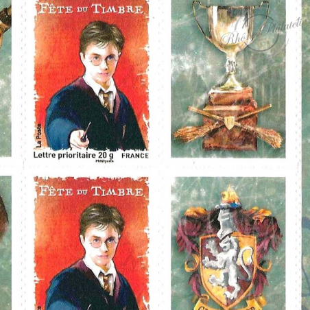 N°___4024A HARRY POTTER - FEUILLE F4024A