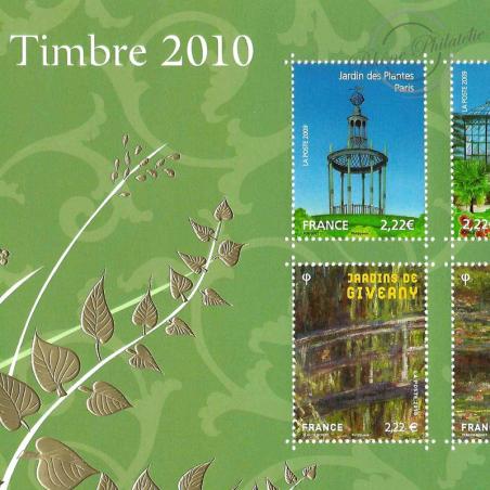 BLOC N°_130 SALON DU TIMBRE 2010 LUXE