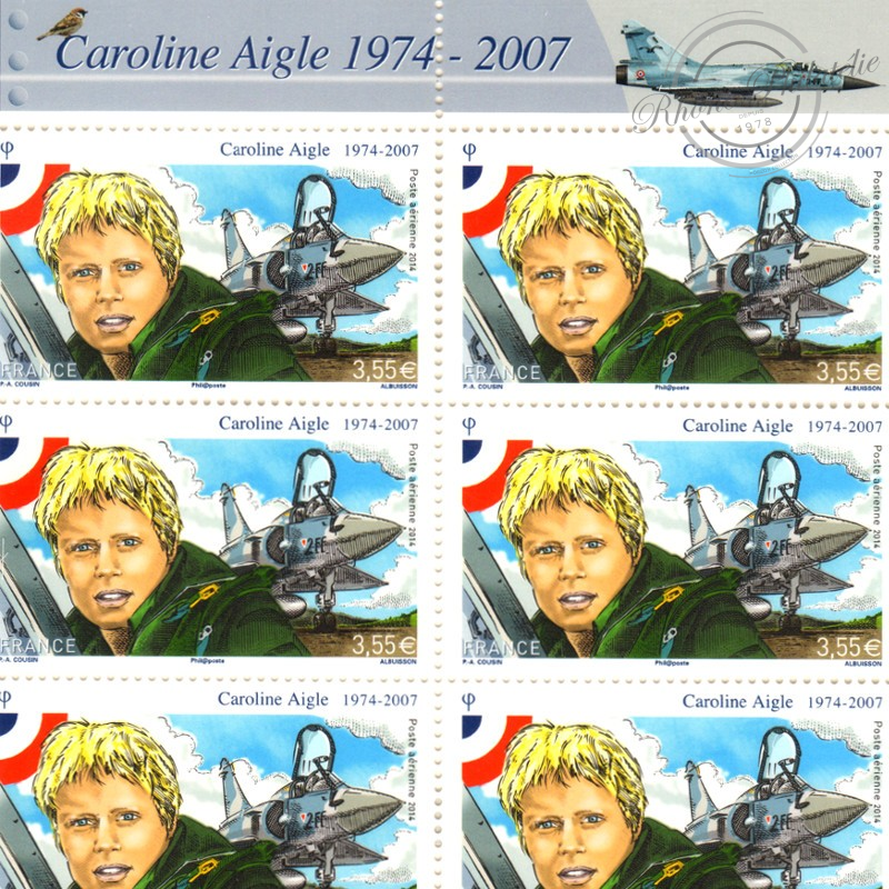 PA N°_78 CAROLINE AIGLE 2014 LUXE FEUILLE COLLECTOR F78 SOUS BLISTER